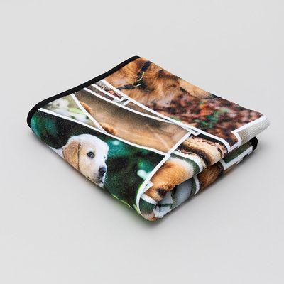 photo pet towel