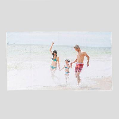 Badetuch mit Fotos