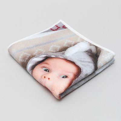 Serviette de bébé personnalisée