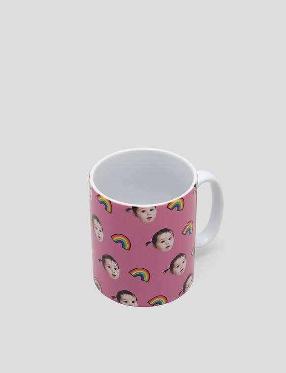 kaffeetasse mit gesicht
