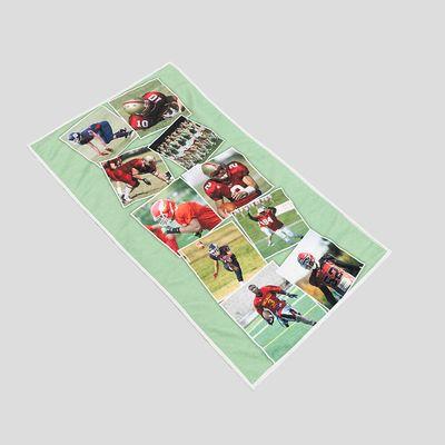 gepersonaliseerde sporthanddoek