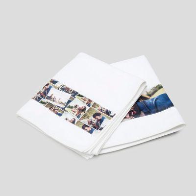 handdoeken met gepersonaliseerde strook