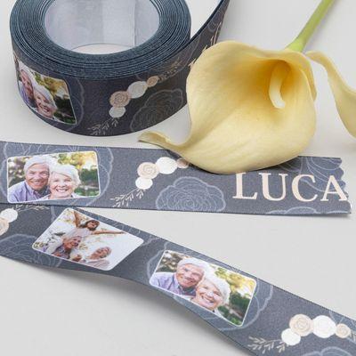 lazo cinta conmemorativo personalizado