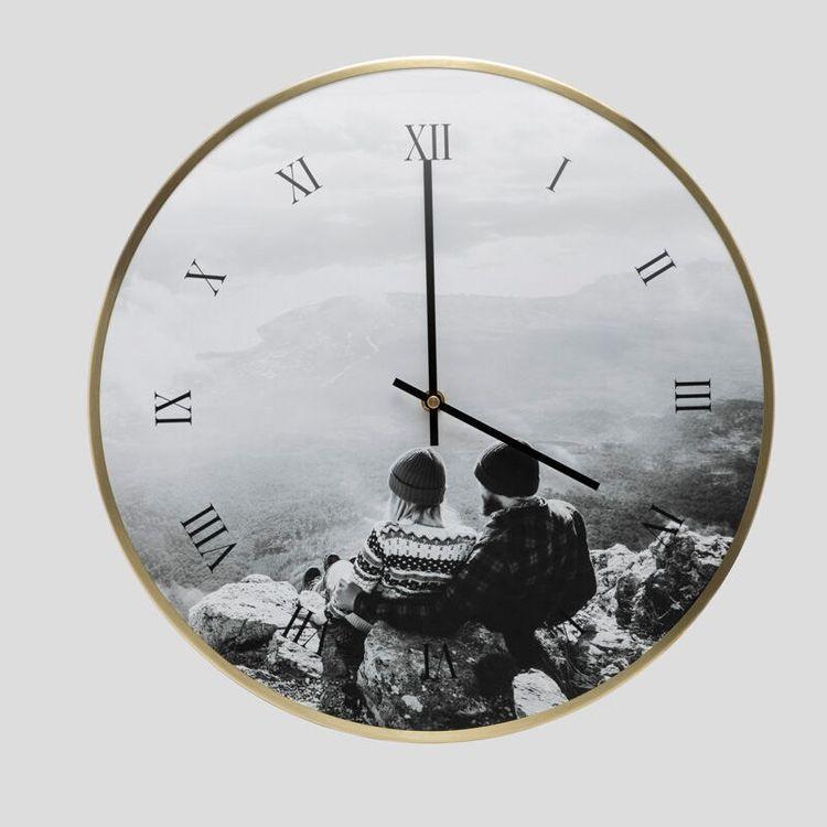personalised wedding clock UK