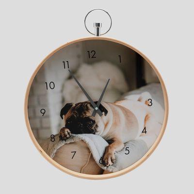 personalised childrens clocks