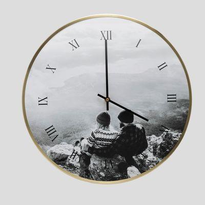 personalised photo wall clocks