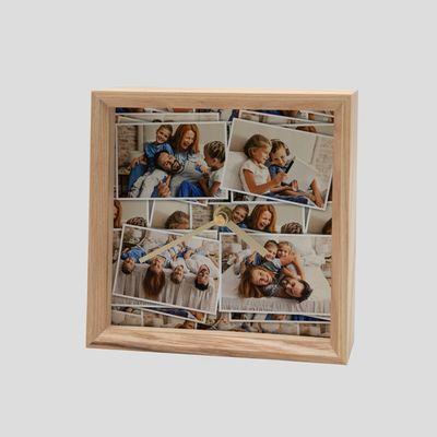 reloj de pared personalizado reyes con fotos