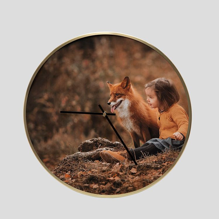 reloj personalizado fotos naturaleza