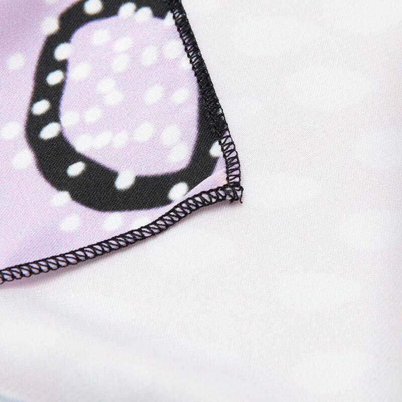 orlo dei foulard personalizzati