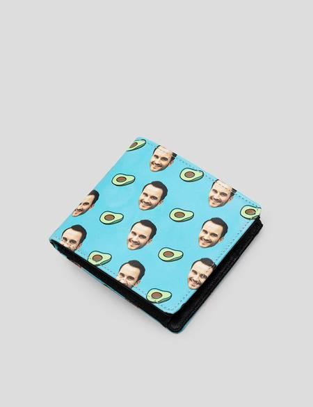 Brieftasche mit Gesicht
