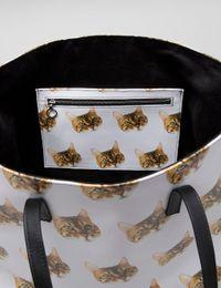 Cat Face Tote Bag UK