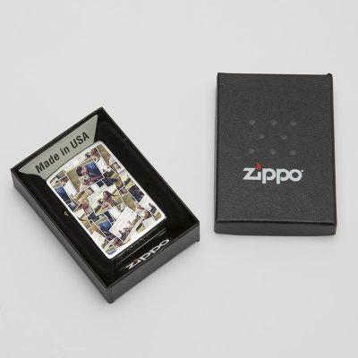 mechero personalizado Zippo regalo original caja