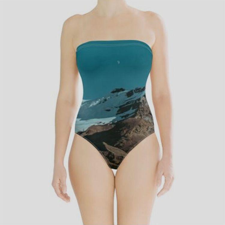 maillot de bain femme bustier personnalisable