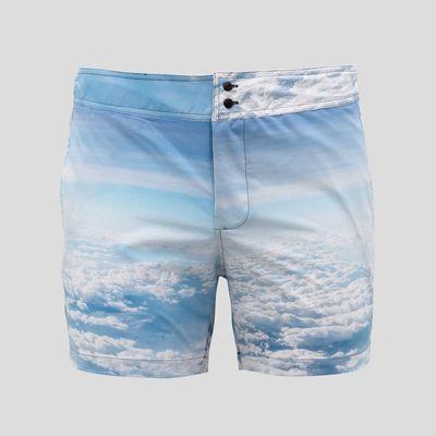 Shorts mit gesicht