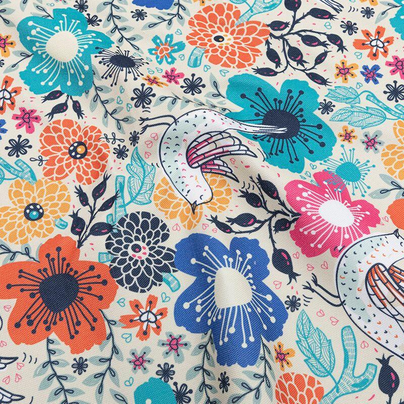 Tissu toile Sailor imprimée avec design