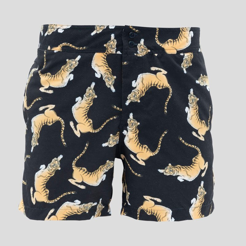 printed slim fit shorts Australia