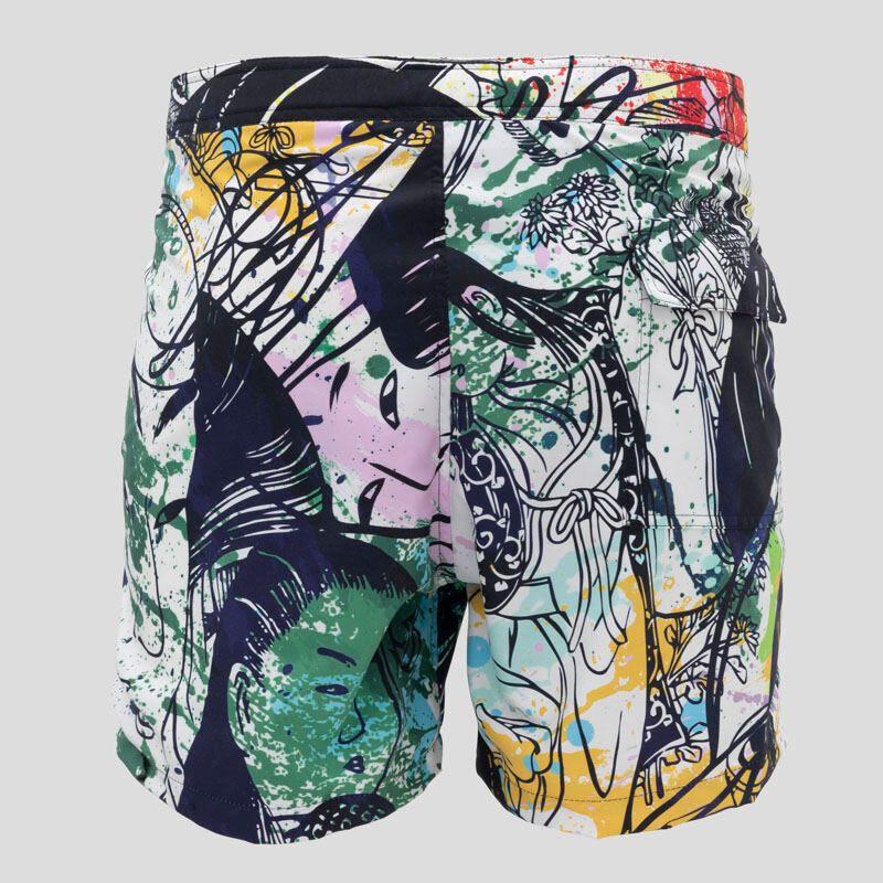 custom slim fit shorts IE