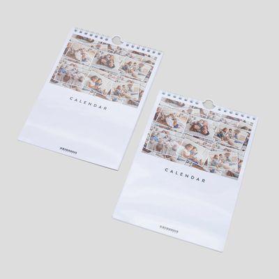 Fotokalender i A5-format