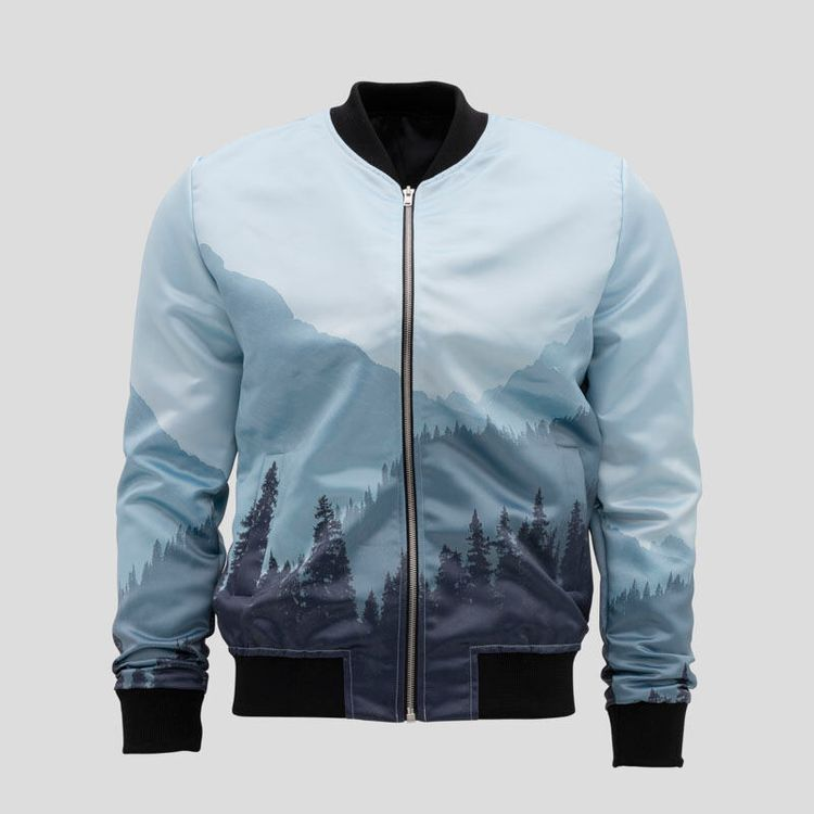 custom printed bomber jacket