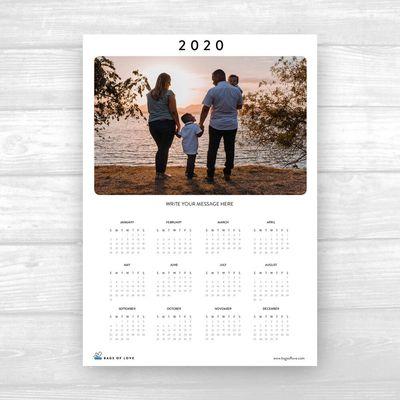 2020 無料プリントカレンダー