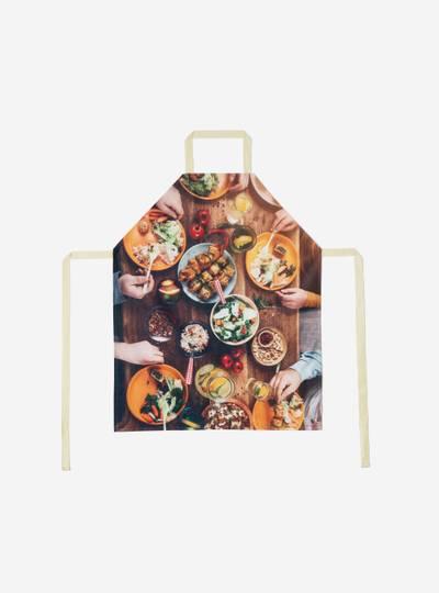personalised photo apron