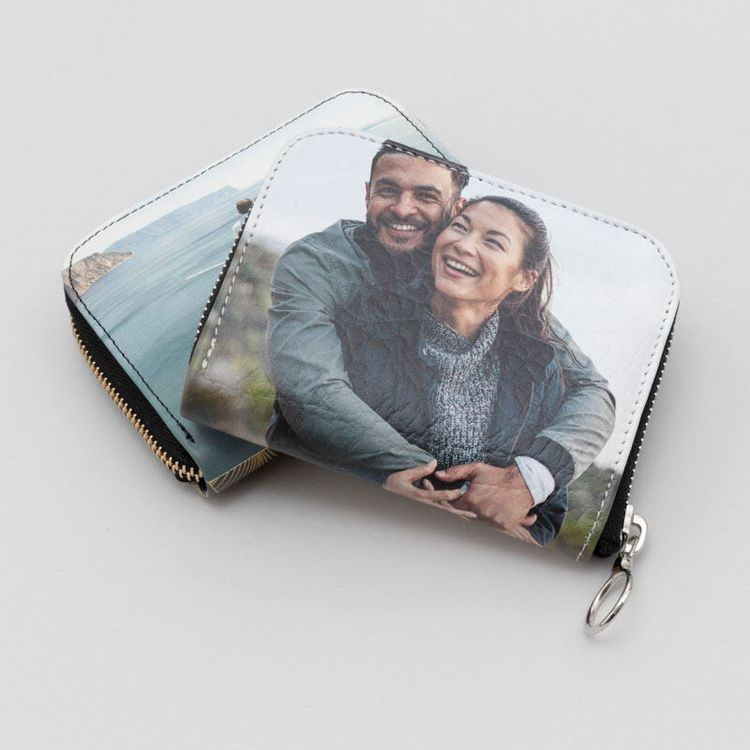 custom photo womens wallet