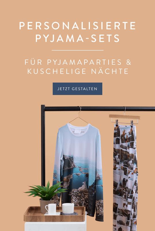 Personalisierte Pyjama-Sets