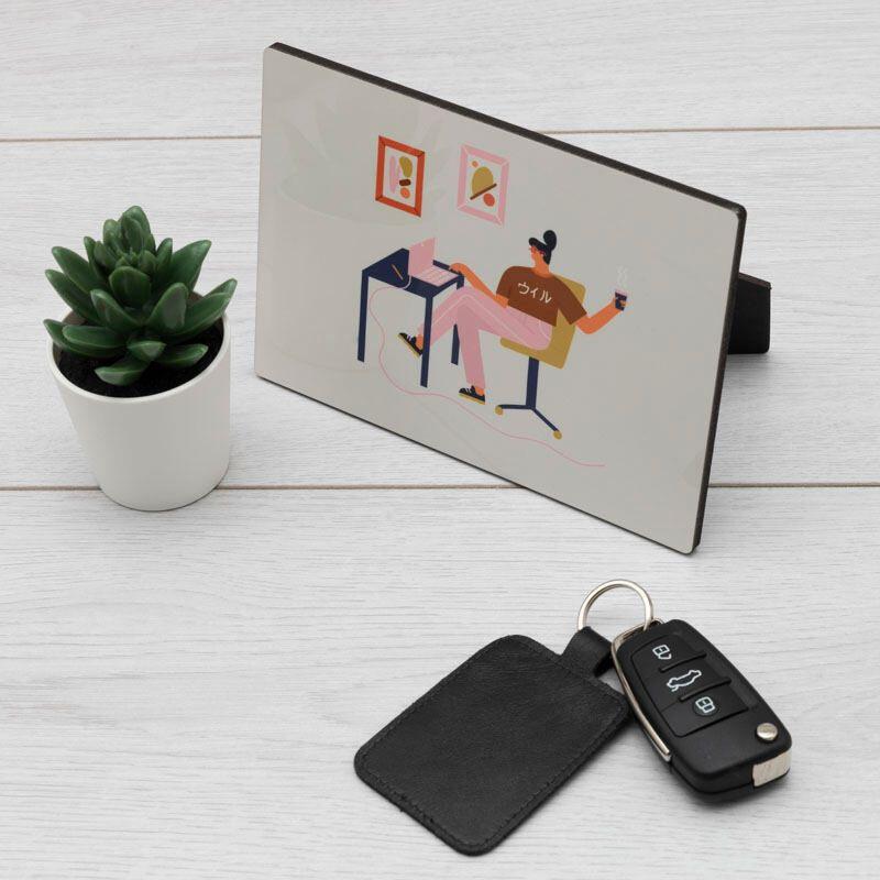 Impression numérique sur bois