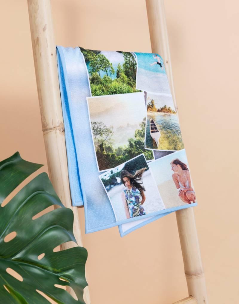 juego de toallas personalizadas fotos nombres