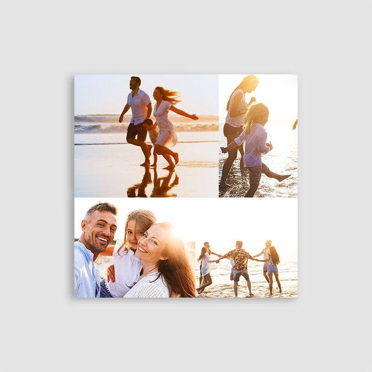 lienzo collage con fotos personalizado