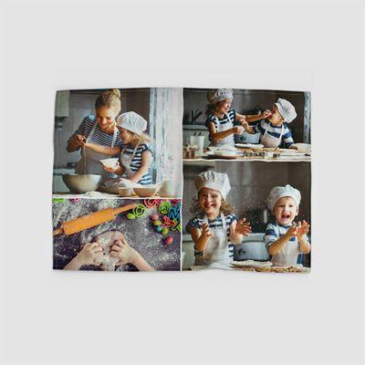 Strofinacci da Cucina Personalizzati con collage di foto