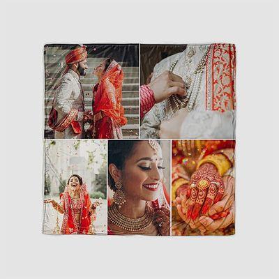 Copridivano con Collage di Foto Personalizzato