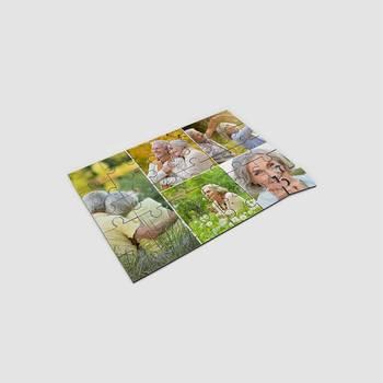 puzzle mit collage bedrucken lassen