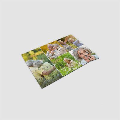 Puzzle Personalizzato con Collage di Foto