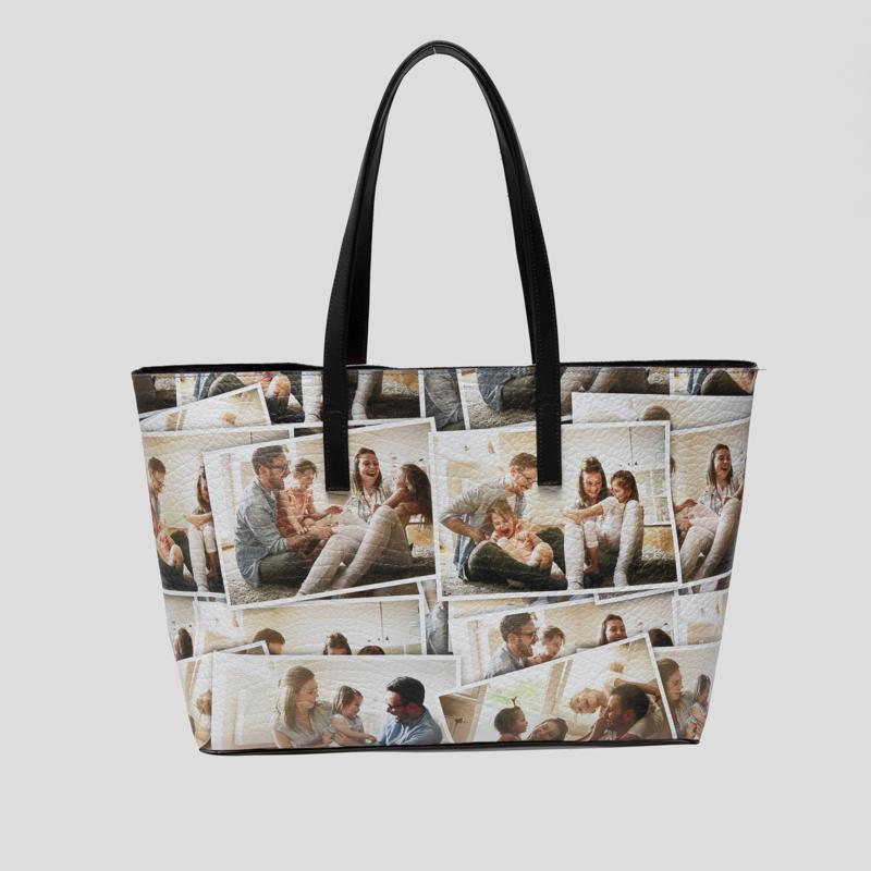 Personalised Tote Bags UK. Personalised Leather Tote Bags