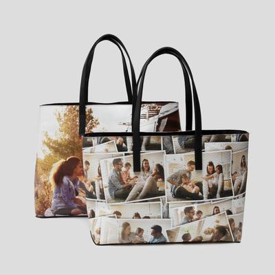 Tote Bag personalizzata in pelle