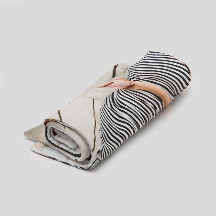 gepersonaliseerde kinderwagen deken