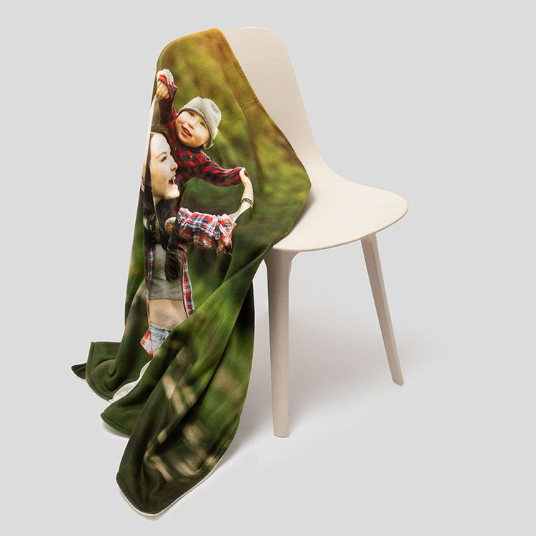 fleece deken bedrukken