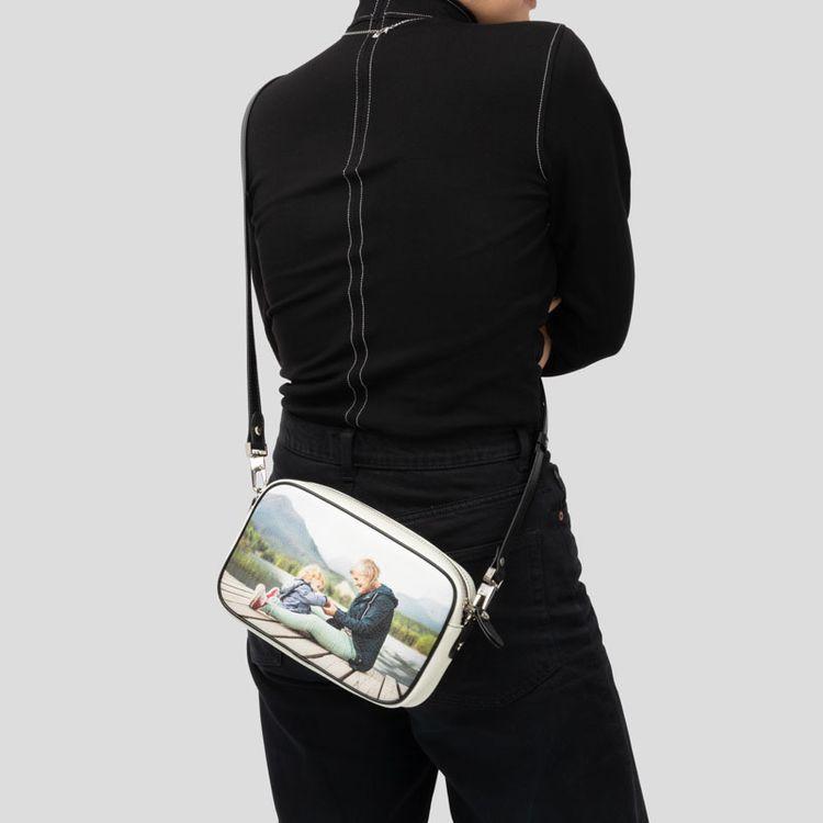 Personalisierte Kamera Schultertasche