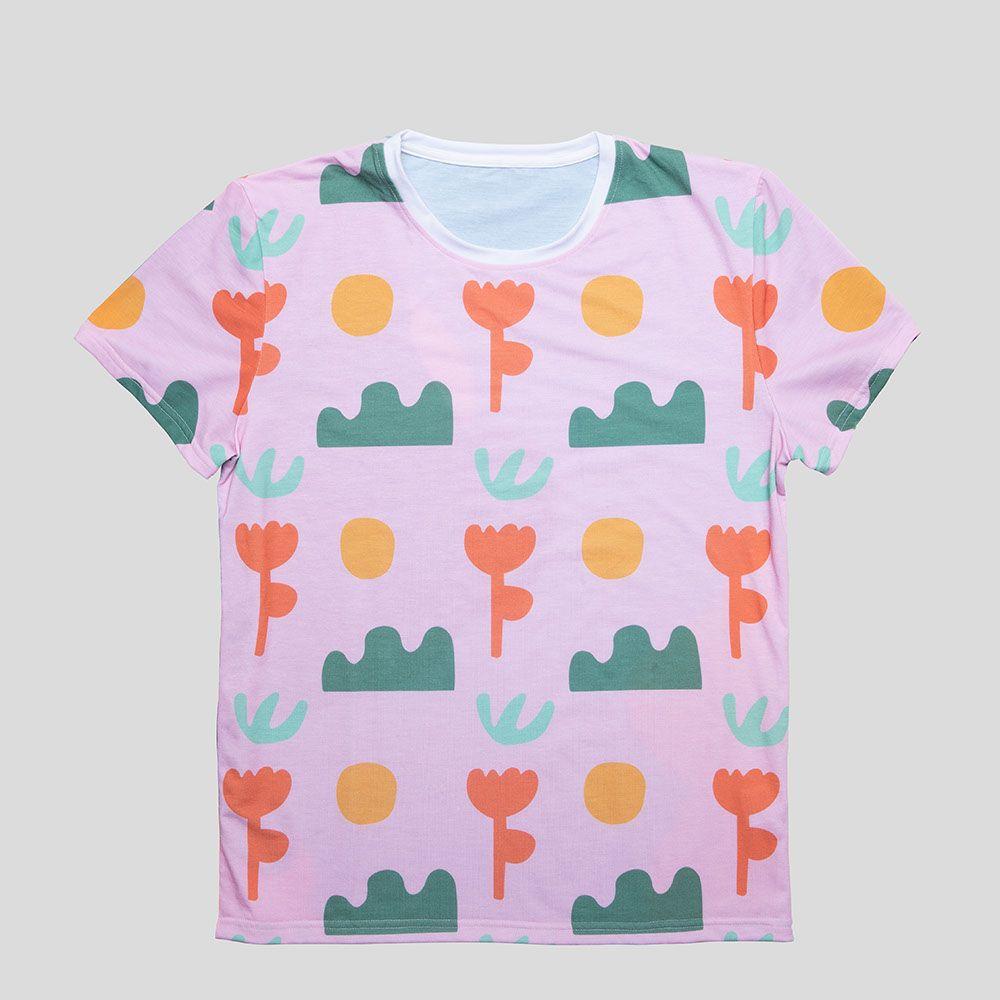 T-Shirt Komplettdruck