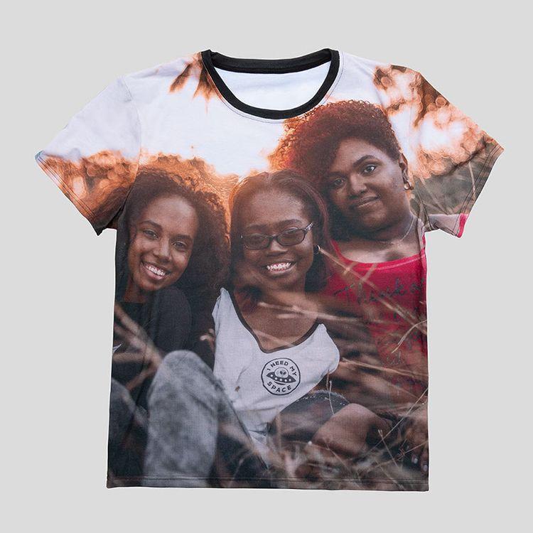 photo on a tshirt