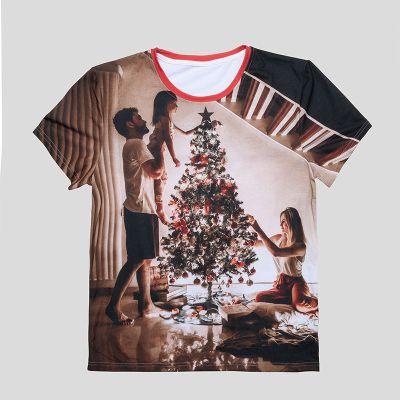 クリスマスTシャツ 写真