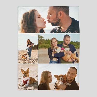 manta personalizada collage