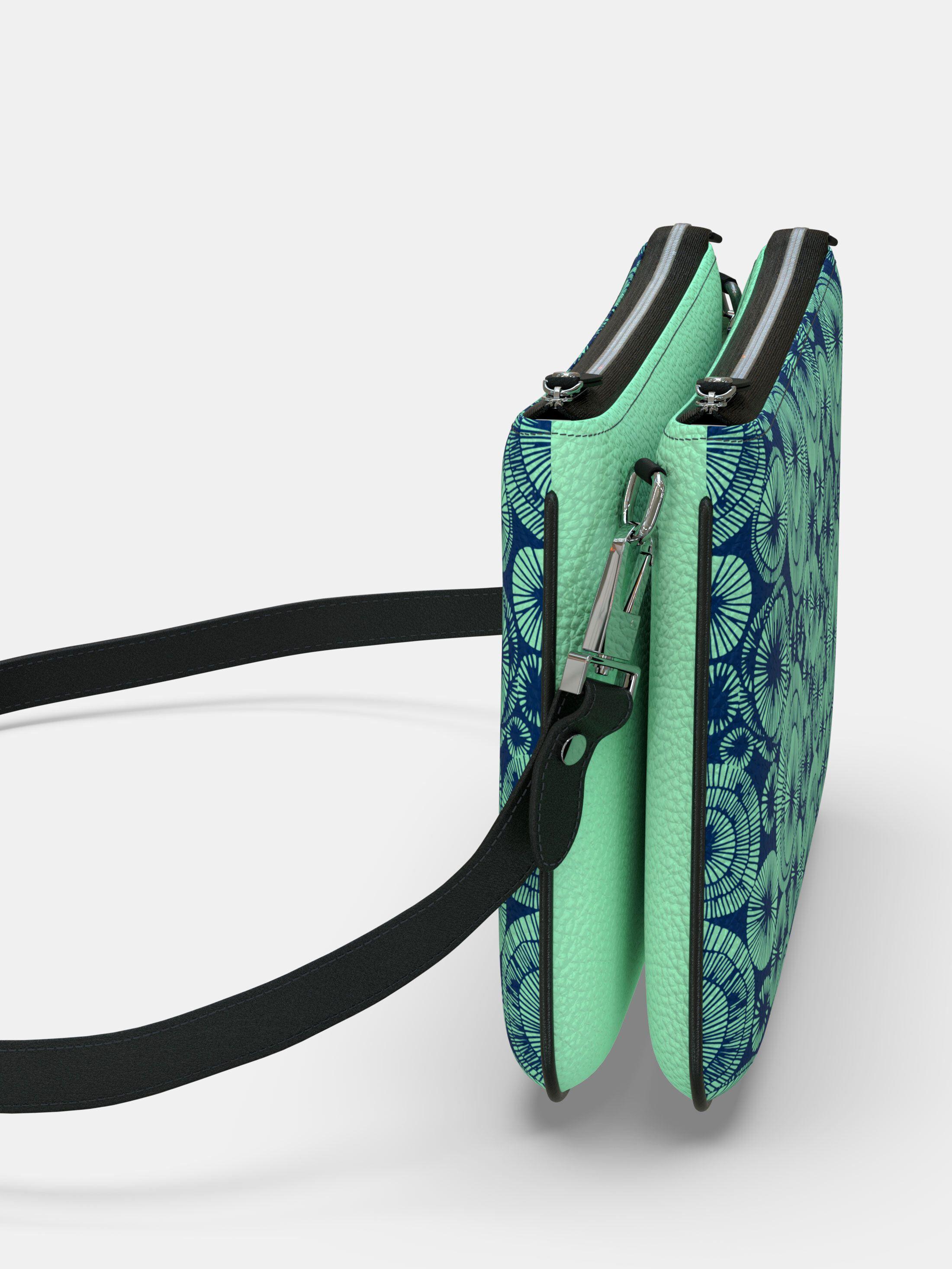 borsetta clutch con tracolla personalizzata