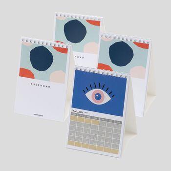 A6 desk calendar printing