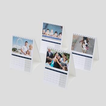 gepersonaliseerde bureaukalender