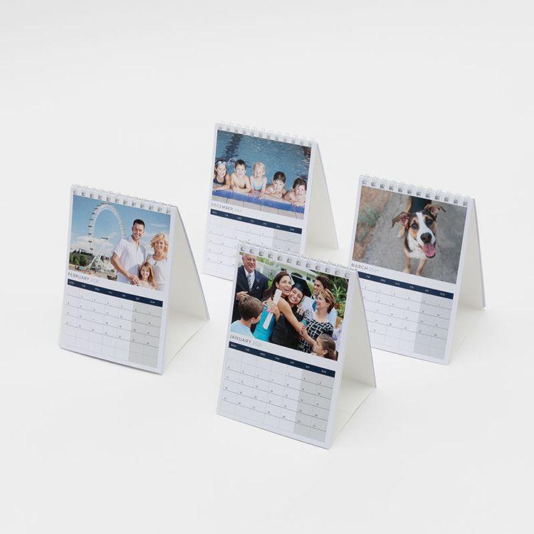 A6 kalender med ditt foto