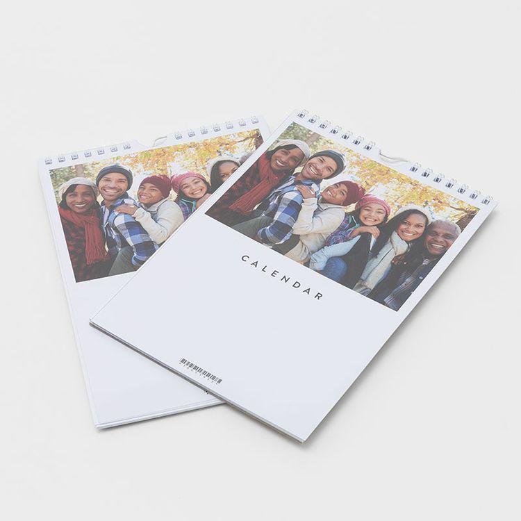 写真カレンダー 印刷 2021
