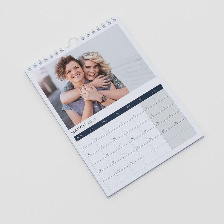 calendario pared personalizado fotos