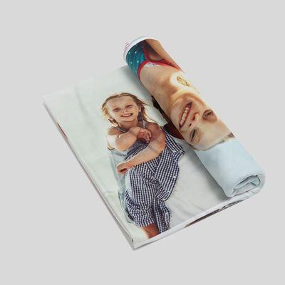 fotofilt med eget tryck